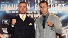 At a press conference on Thursday, Frampton said he's the boss in Belfast.