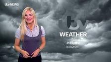 Jo Blythe will todays weather