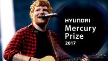 Ed Sheeran not expecting Mercury Prize win