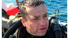 Diver Steven Slater who died off the US coast
