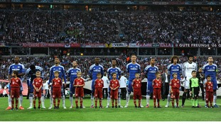 Chelsea against Bayern Munich