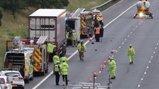 Man killed in A74 crash named