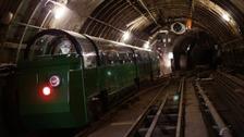Abandoned underground mail railway opens to public