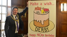 Derby has been a city for 40 years