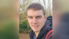 Royal Marine Ciaran Maxwell was arrested in Somerset last August.