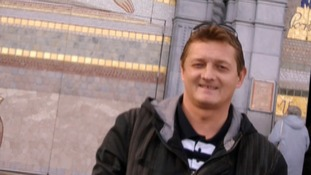 Rene Tkacik was killed when wet concrete fell onto him