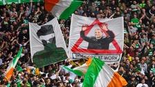 Paramilitary banner