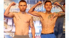 Frampton weigh-in