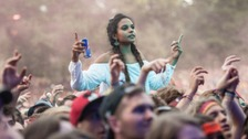 Festival goers are being warned about danger pills