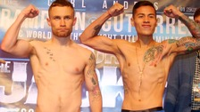 Frampton misses weight but fight still goes ahead