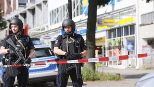 Hamburg stabbing: One dead and several injured in supermarket rampage