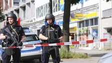 One dead in German supermarket attack