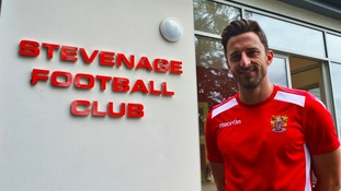Chris Whelpdale has signed for Stevenage FC from AFC Wimbledon