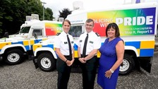 Police officers to take part in Pride parade for first time