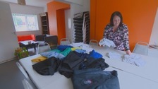 Mum 'helps 800 families' with donated school uniform