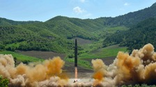 North Korea in new ballistic missile test