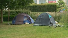 Tent City: The homeless camping in Cardiff