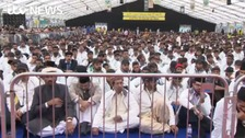 Thousands of Muslims gather in Hampshire countryside