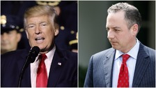Donald Trump replaces Priebus as White House chief of staff