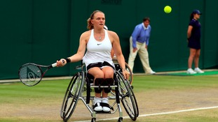 Wimbledon champion Jordanne Whiley announces pregnancy