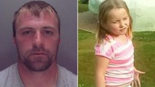 Five-year-old girl missing with wanted father