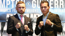 Organisers 'working on new date' for Frampton fight