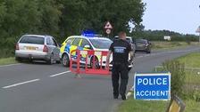 Pedestrian dies after being hit by police van in Norfolk