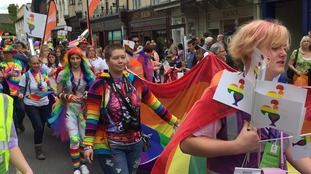 'Celebrating freedom': Swindon Pride reaches its 10th year