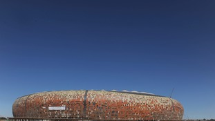 The FNB Stadium was used during the 2010 football World Cup.