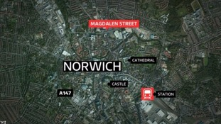 Police were called to a butcher's on Magdalen Street in the city at around 11.20pm