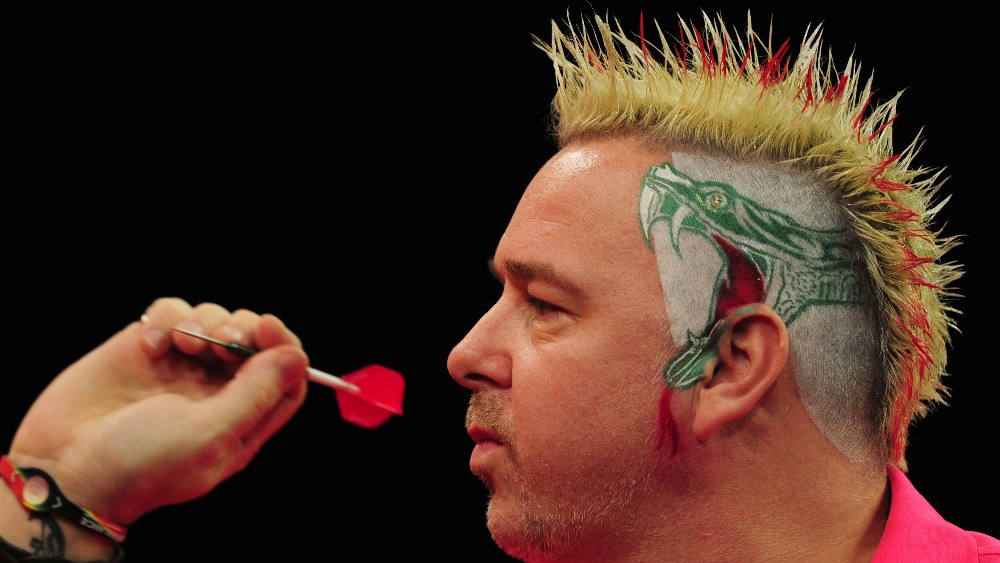 Good Hair Day For Darts Player Peter Wright Itv News
