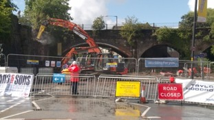 Bristol bids goodbye to Victorian viaduct