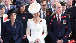 Passchendaele centenary: Duke of Cambridge hails sacrifice of war dead