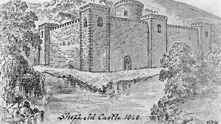 The medieval castle was a once a huge structure dominating the South Yorkshire city