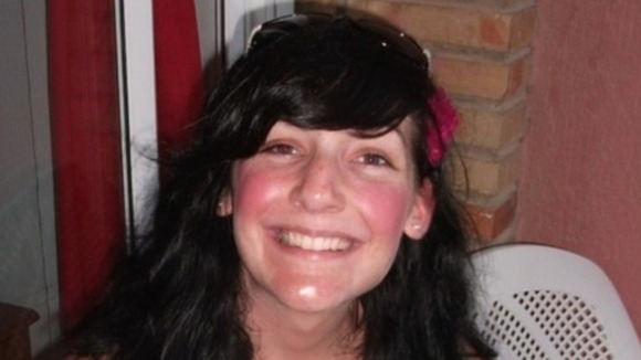 Charlotte Blackman, who was 22, died in the landslide in Dorset in July