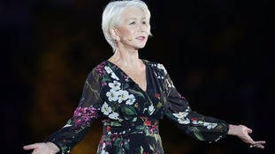 Dame Helen Mirren led the centenary memorial to those who were lost at the Battle of Passchendaele