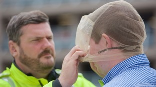 Spit guards introduced to protect police from diseases