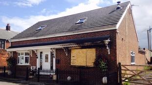 A home was attacked in Ferryhill