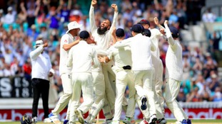 Moeen Ali takes a hat-trick to give England victory against South Africa