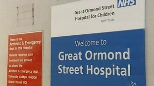 Thief steals from sick Ormond Street children