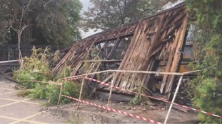 Wooden barn built by Cadbury family destroyed in fire