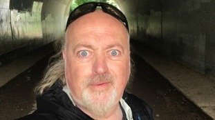 Bill Bailey walking across the country for charity