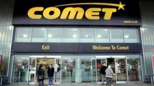 Comet electrical stroe