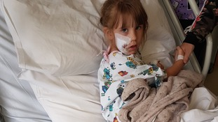 Girl, 4, left scarred for life in dog attack