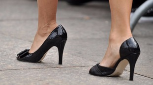 Action urged to ban enforced wearing of high heels