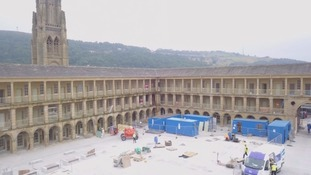 Halifax Piece Hall re-opens on Yorkshire day