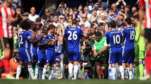 Terry left the pitch during the 26th minute of Chelsea's Premier League fixture against Sunderland last season.