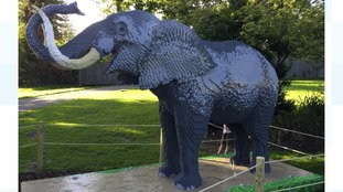 Marwell is first zoo to host Lego animals