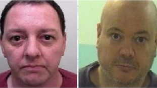 Christopher Allison, 37 and Scott Noon, 41, both absconded from the South Gloucestershire prison last Thursday July 27.