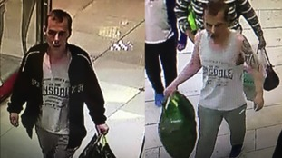 CCTV released after watches worth £20,000 stolen